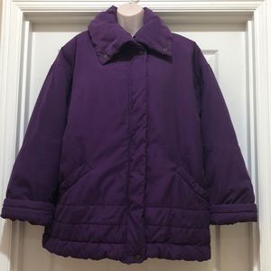 London Fog Jackets & Coats - London Fog Puffer Coat Size L